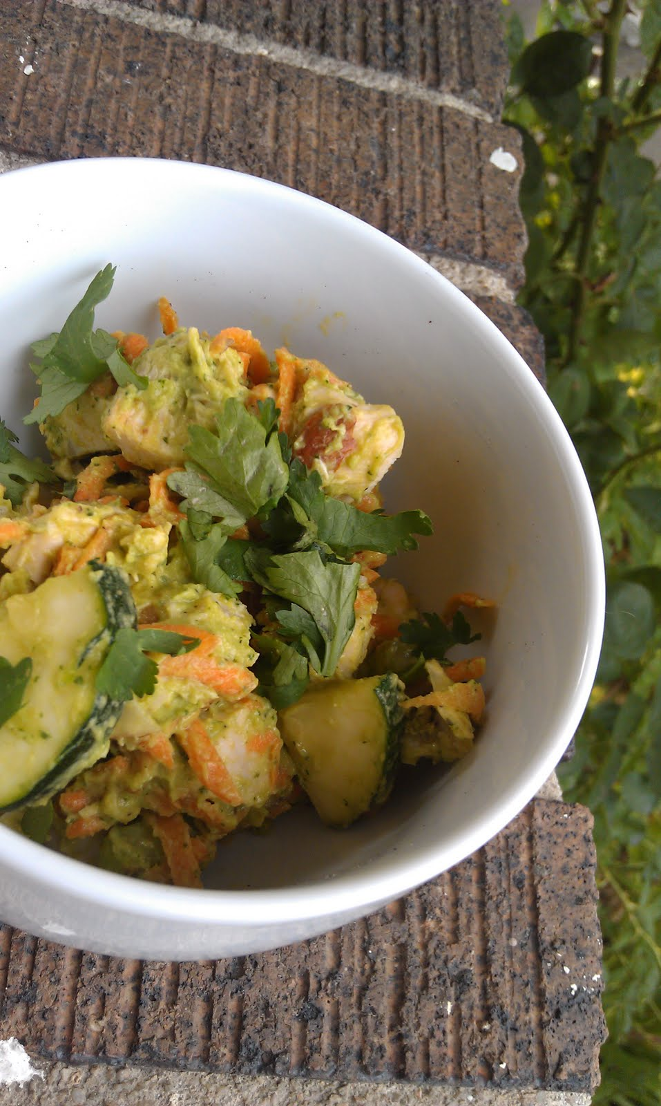 PaleOMG – Paleo Recipes – Avocado Cilantro Chicken Salad