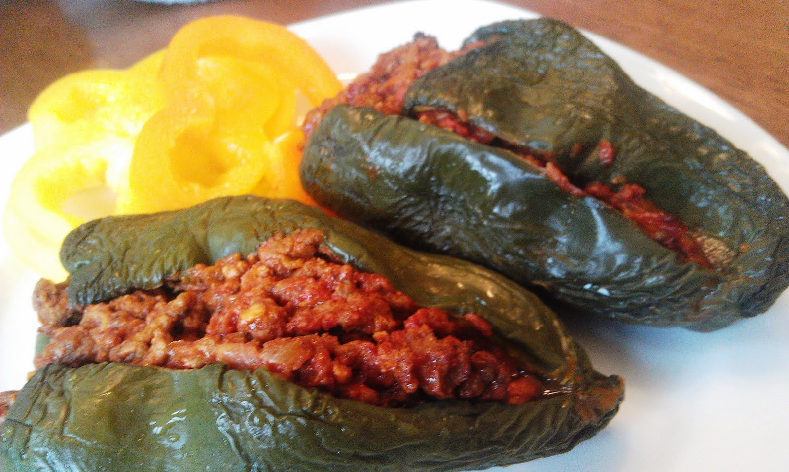 Spicy Mexican Stuffed Poblanos Paleomg