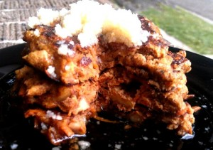 PaleOMG Carrot Cake Pancakes