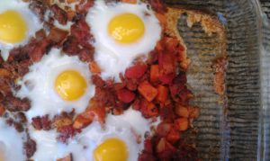 PaleOMG Mexican Hash Egg Bake