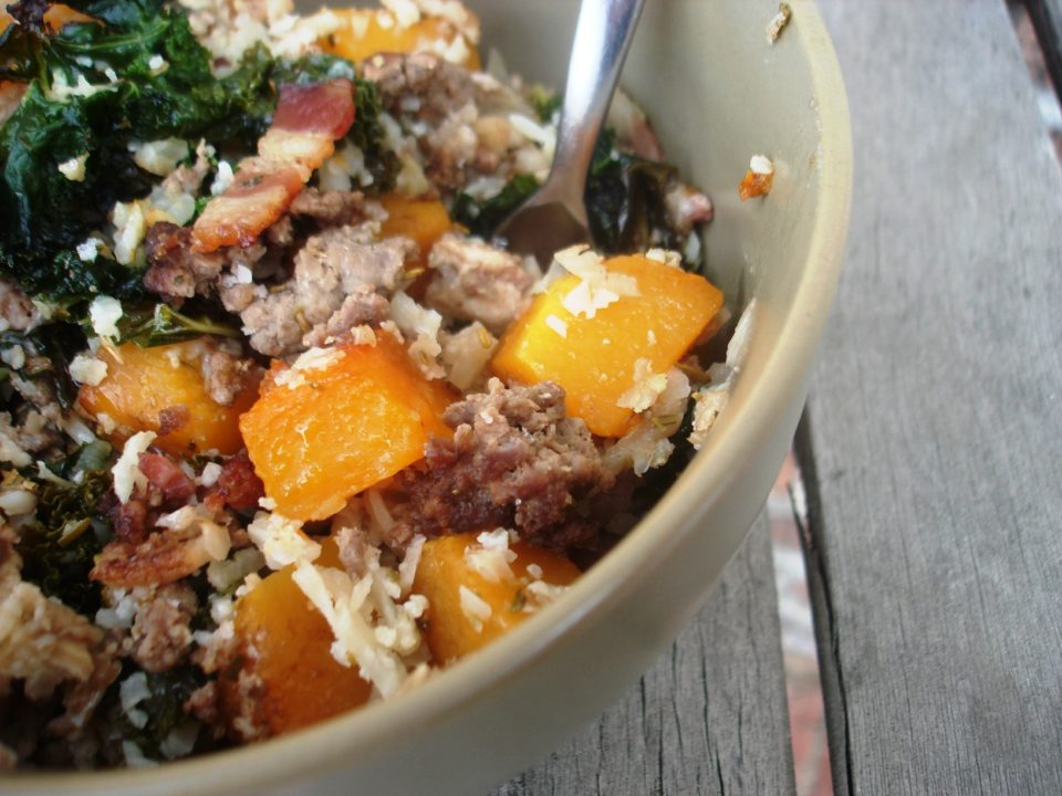 balsamic butternut bake