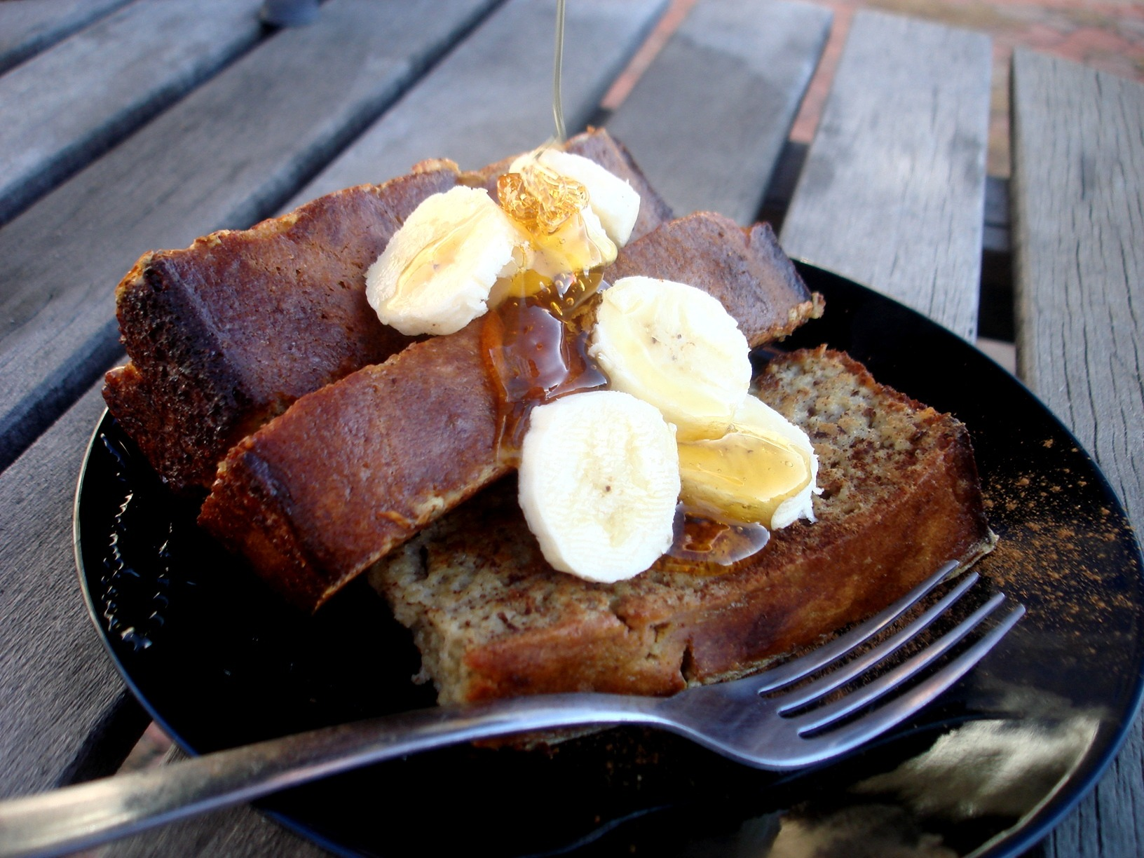 Banana Bread French Toast |