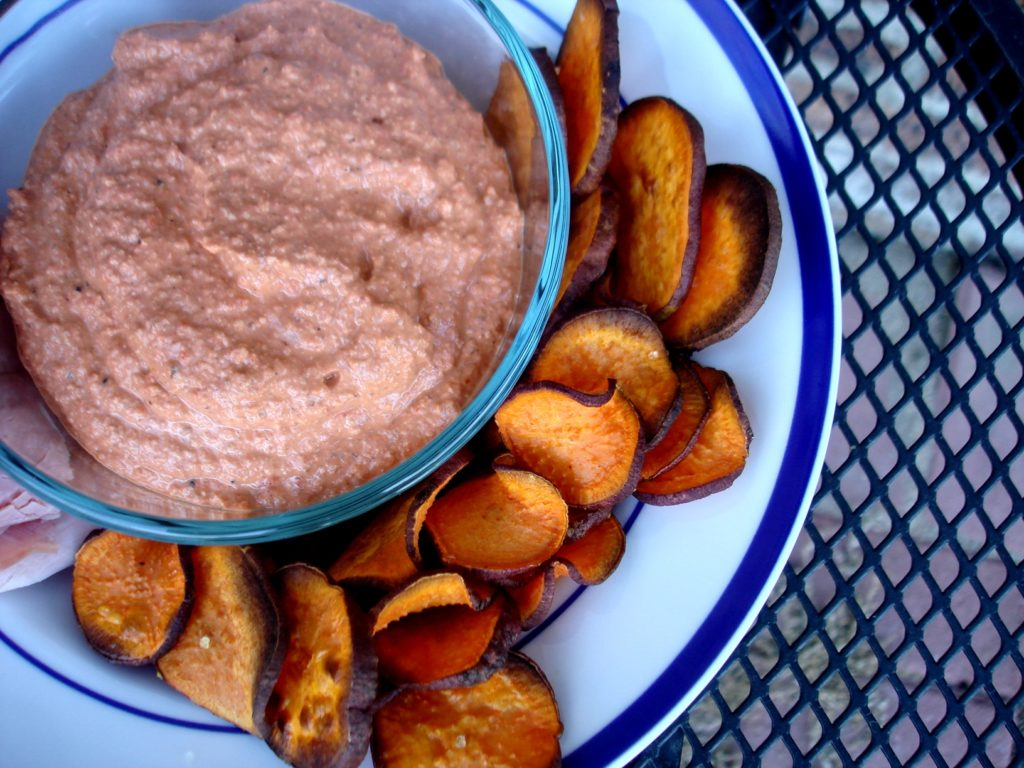 PaleOMG Roasted Red Pepper Dip