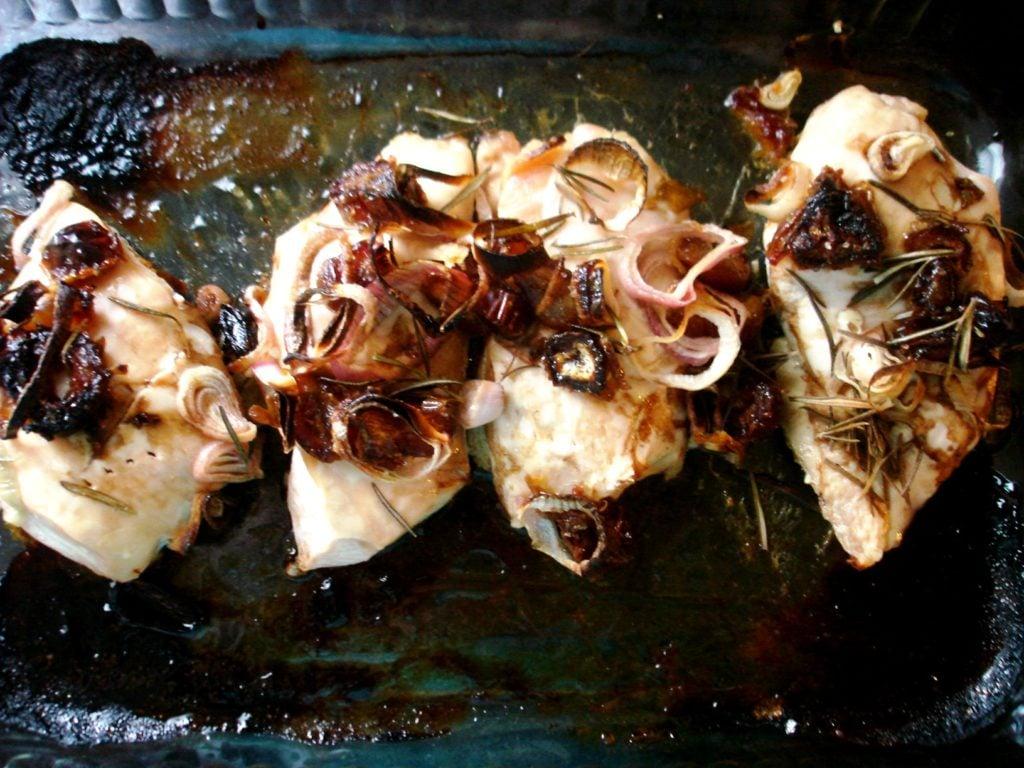 PaleOMG Date Shallot Rosemary Chicken