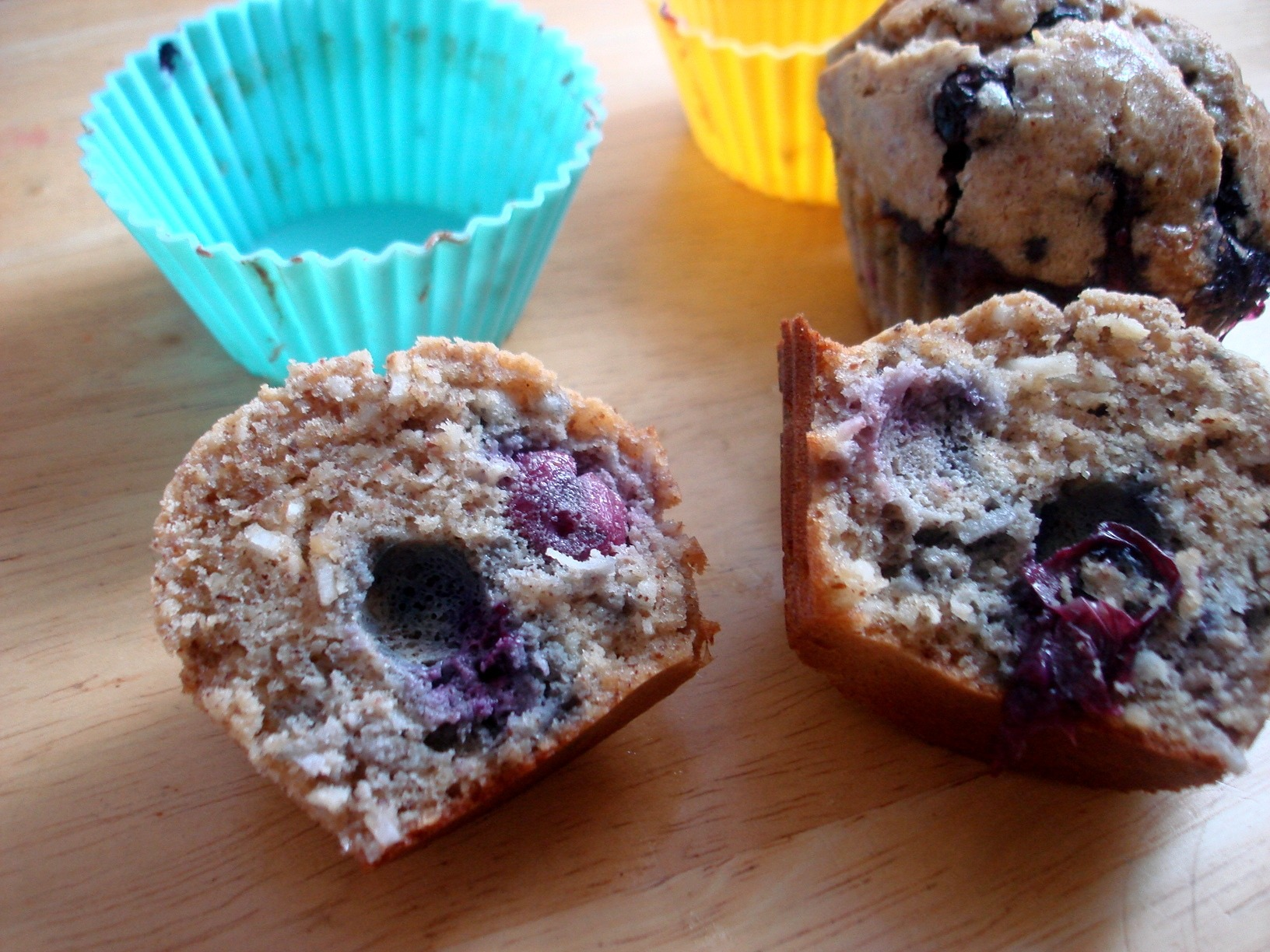 Simple Blueberry Muffins |