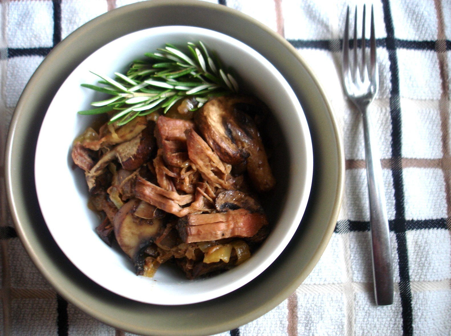 Leftovers Mushroom Gravy Slow Cooked Rump Roast Paleomg