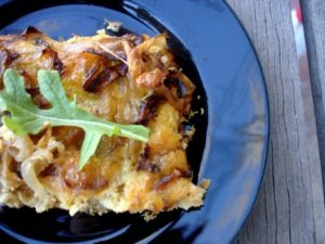 PaleOMG Caramelized Onion Frittata