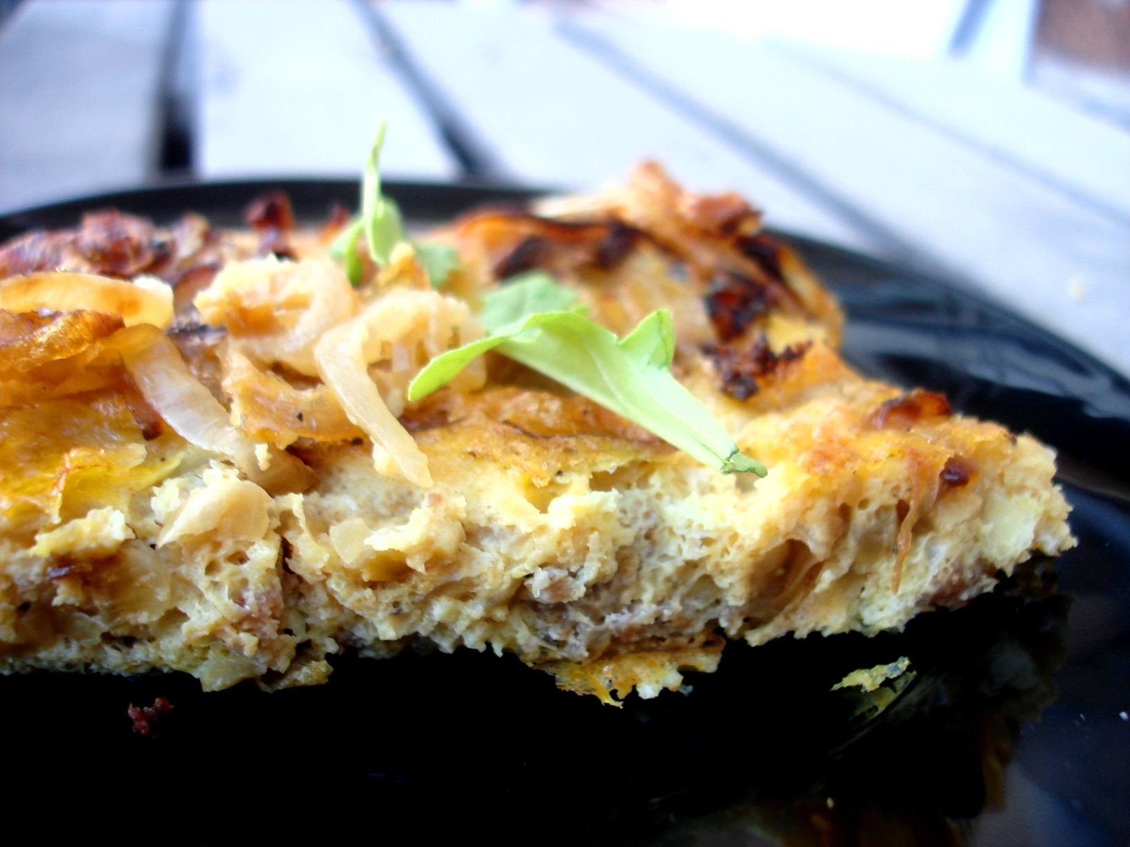 Caramelized Onion, Red Pepper And Zucchini Frittata - 3 ...