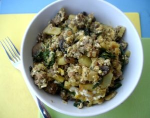 PaleOMG Easy Breakfast Scramble