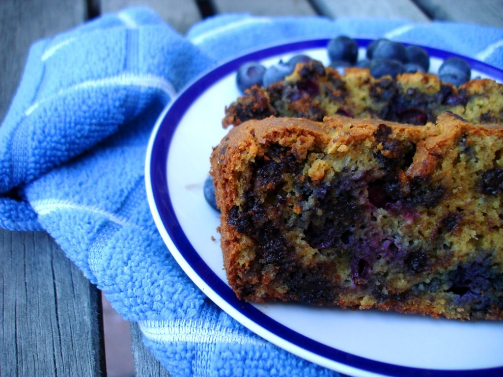 PaleOMG Blueberry & Chocolate Chip Pumpkin Loaf