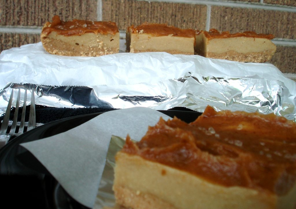 PaleOMG Caramel Cheesecake Minus Cheese