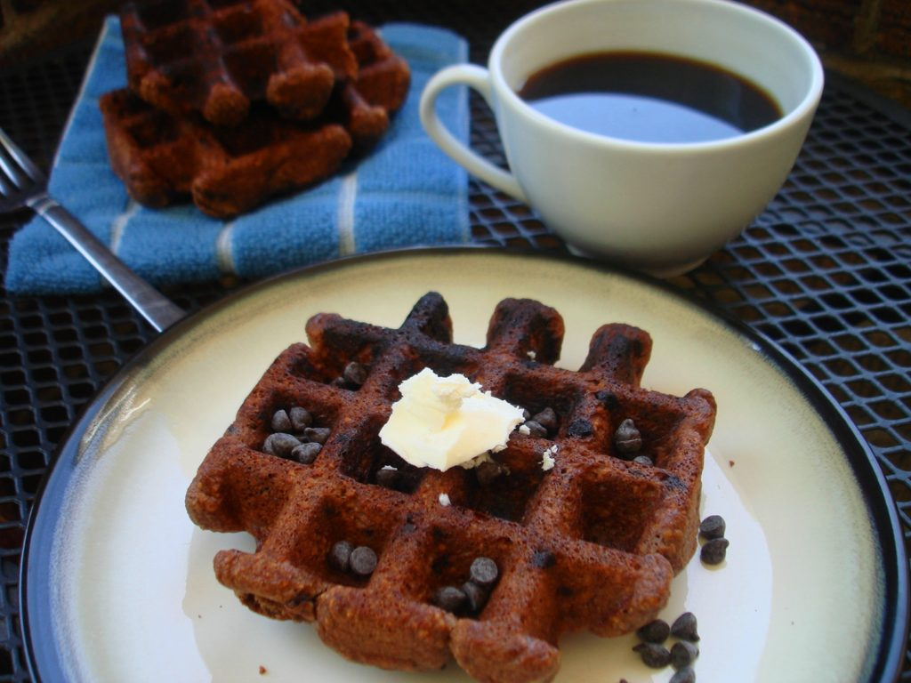 PaleOMG Chocolate Waffles