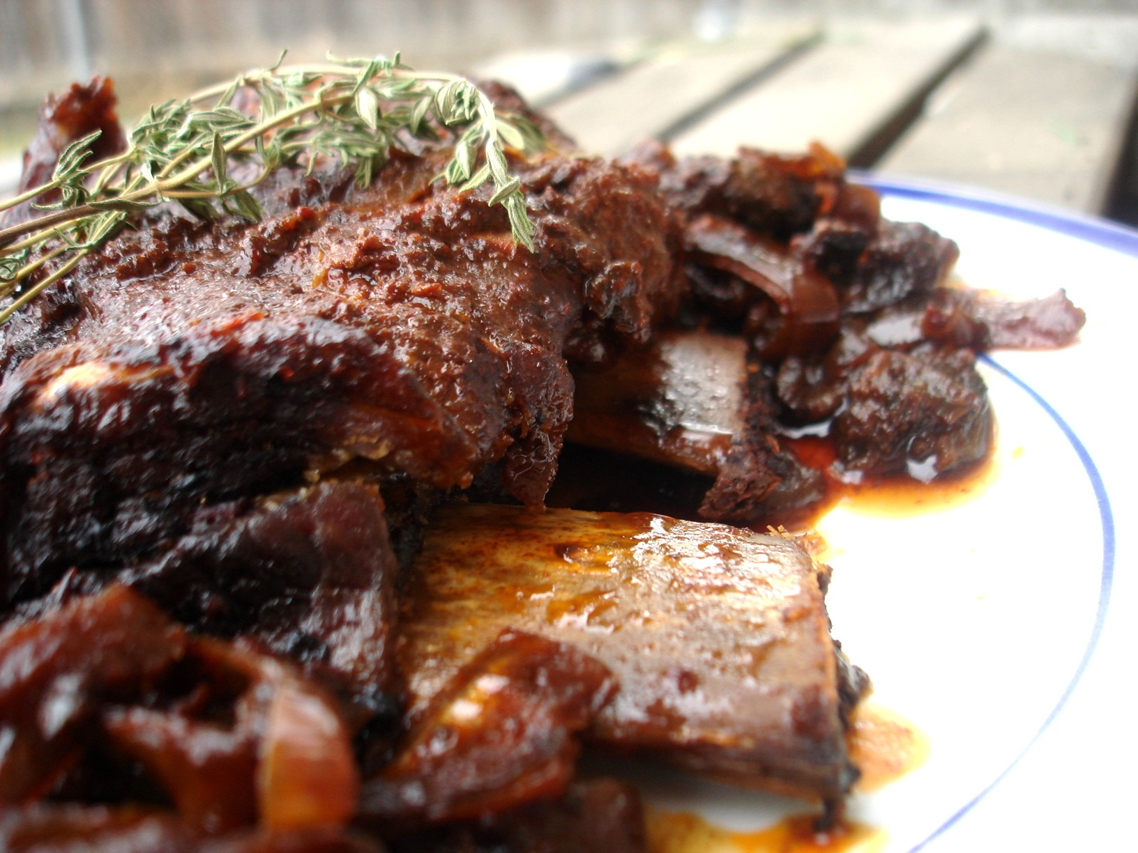 Short Ribs Braised In Coffee Ancho Chile Sauce Recipes — Dishmaps