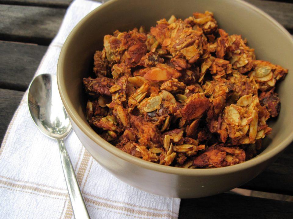 pumpkin granola1