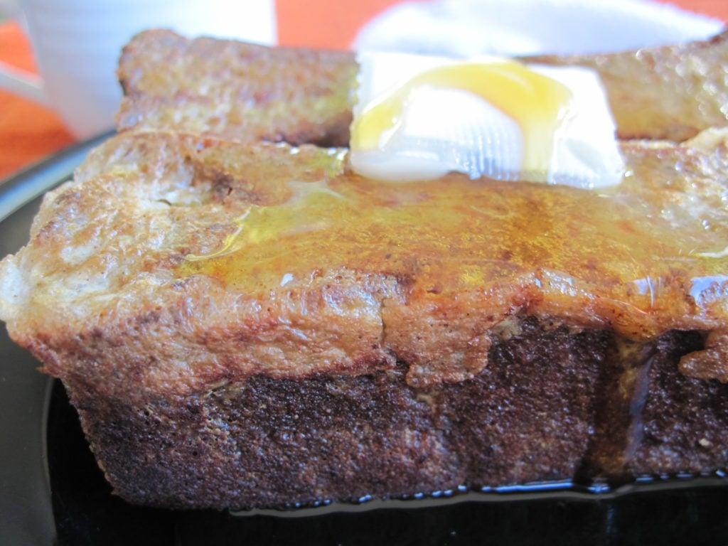 PaleOMG Pumpkin Bread French Toast