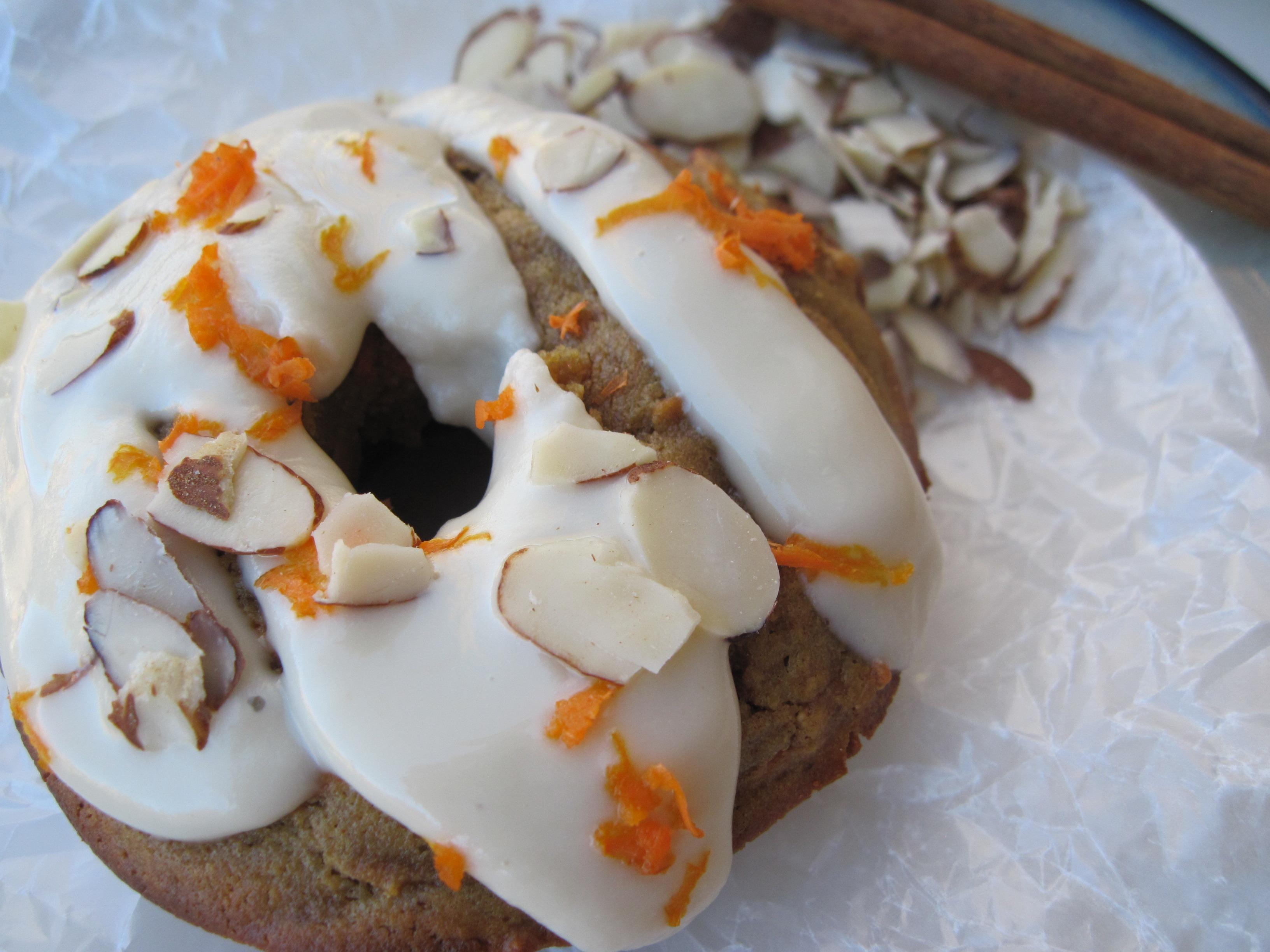 PaleOMG Carrot Cake Donuts