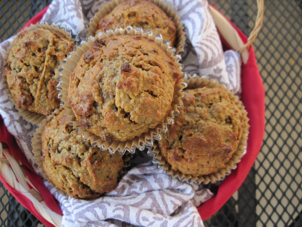 Morning Glory Muffins (nut free option)