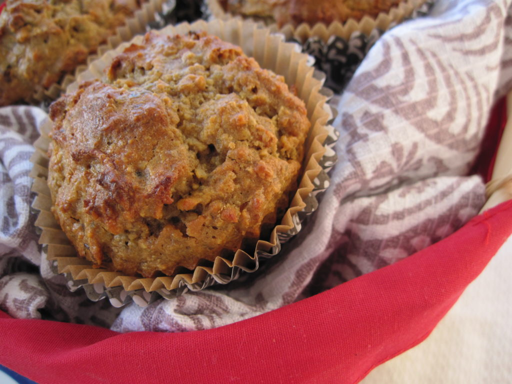 Morning Glory Muffins (nut free option) - PaleOMG - Paleo Recipes