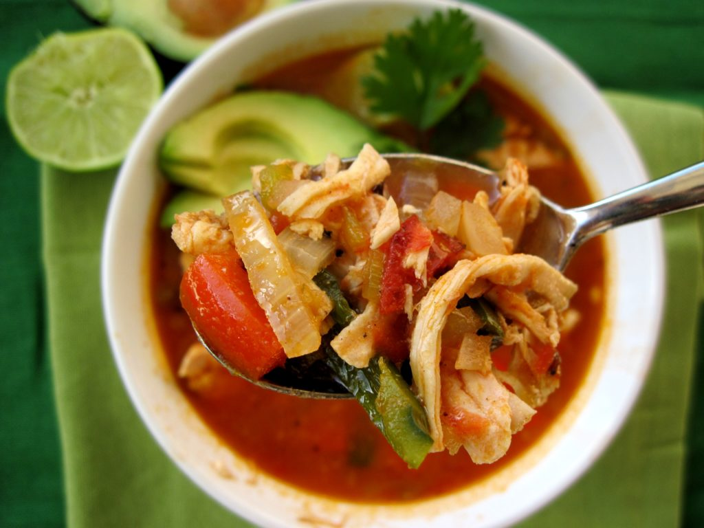 PaleOMG Chicken Tortilla Soup