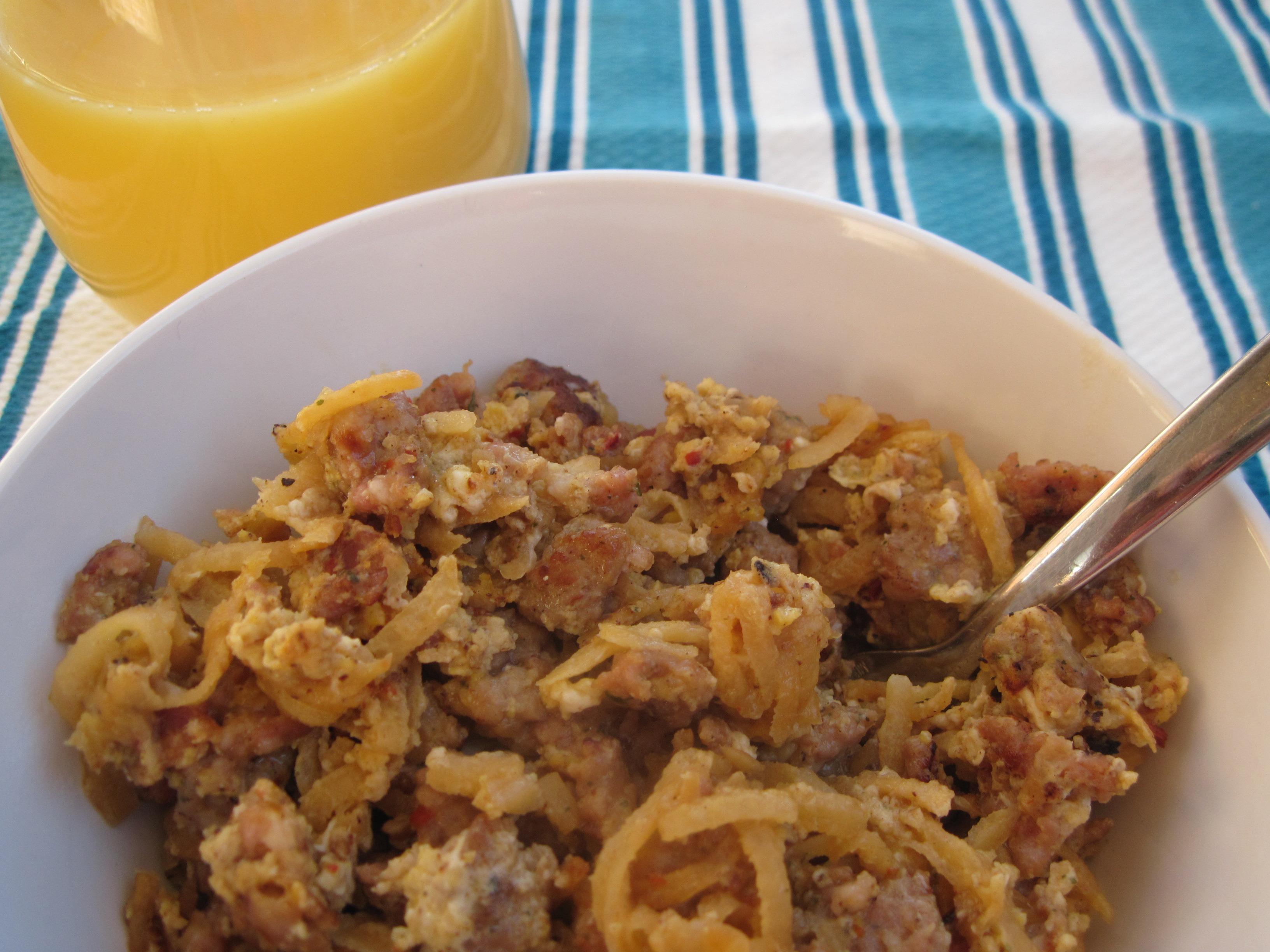 PaleOMG Rutabaga Bacon Breakfast Hash