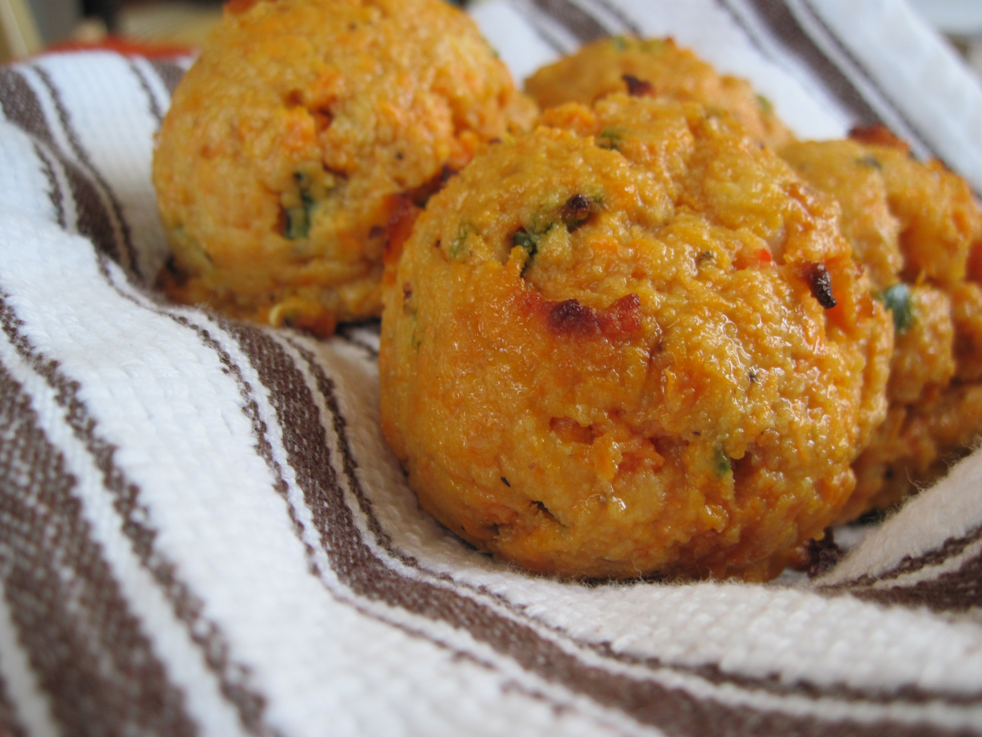 PaleOMG Shrimp & Jalapeno Sweet Potato Biscuits