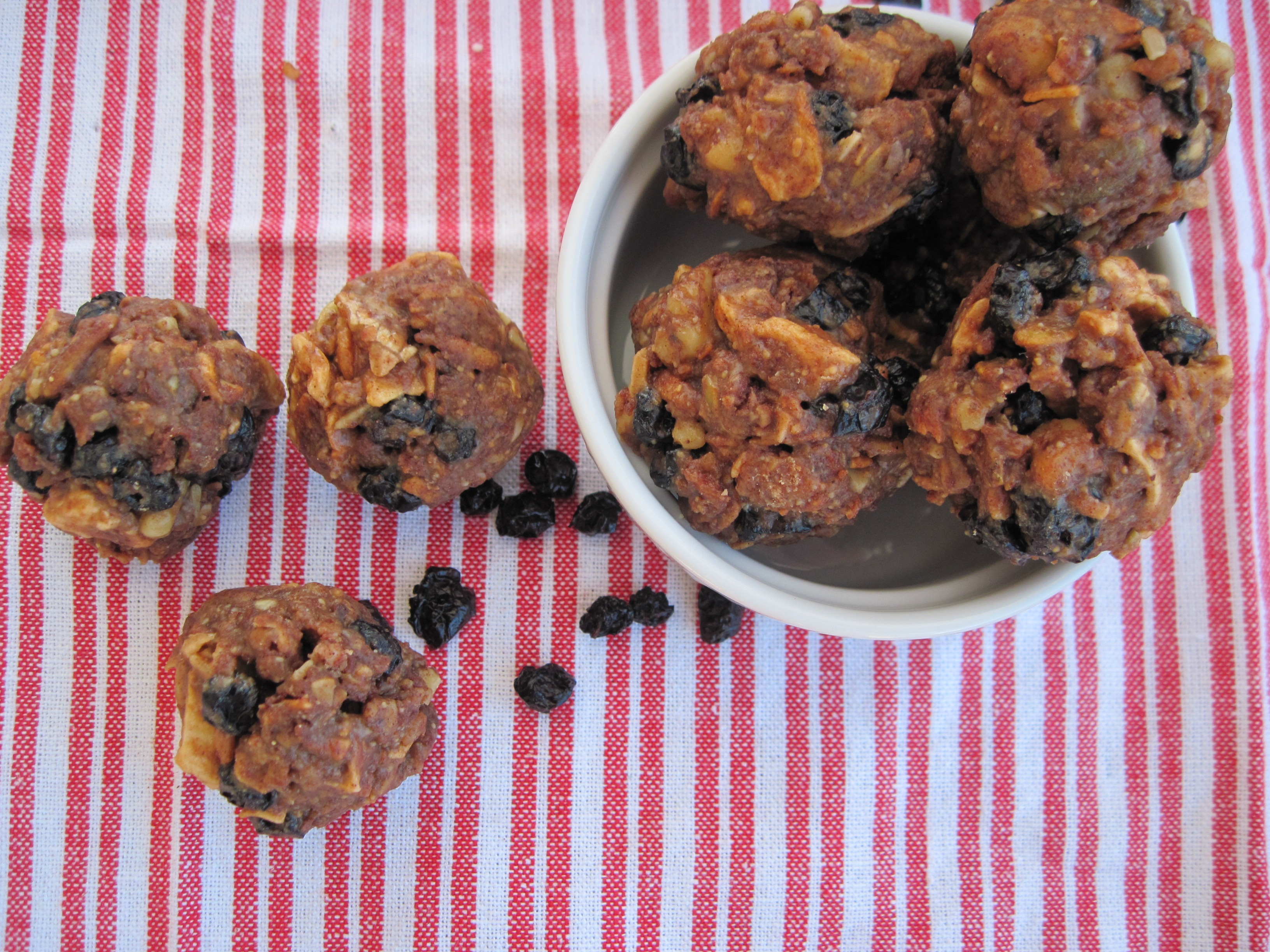 PaleOMG Blueberry Apple Pie Trail Mix Balls