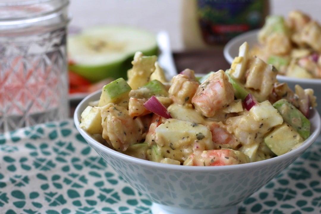 PaleOMG Simple Shrimp Salad