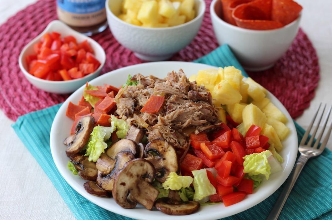 PaleOMG Hawaiian Pizza Salad