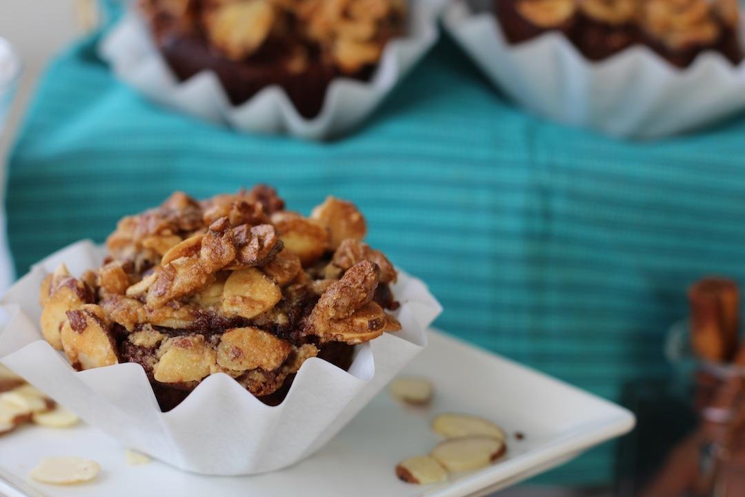 PaleOMG Chocolate Maple Pecan Crunch Banana Muffins