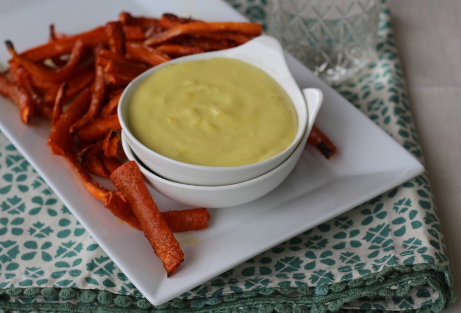 PaleOMG Carrot Fries with Garlic Aioli