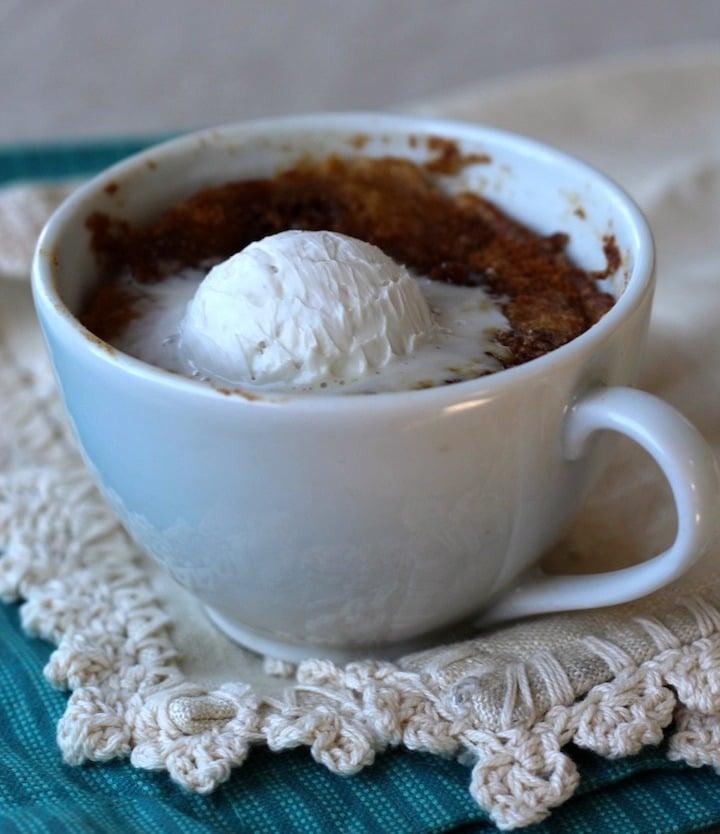 PaleOMG Microwave Coffee Cake in a Mug