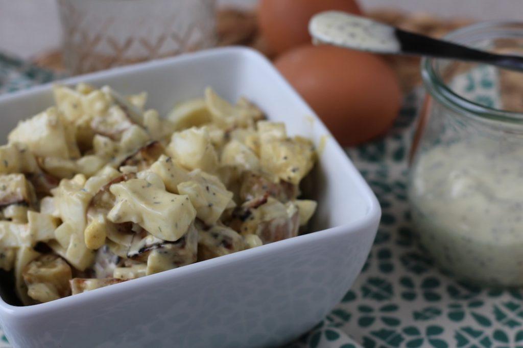PaleOMG 4th of July Egg and Potato Salad