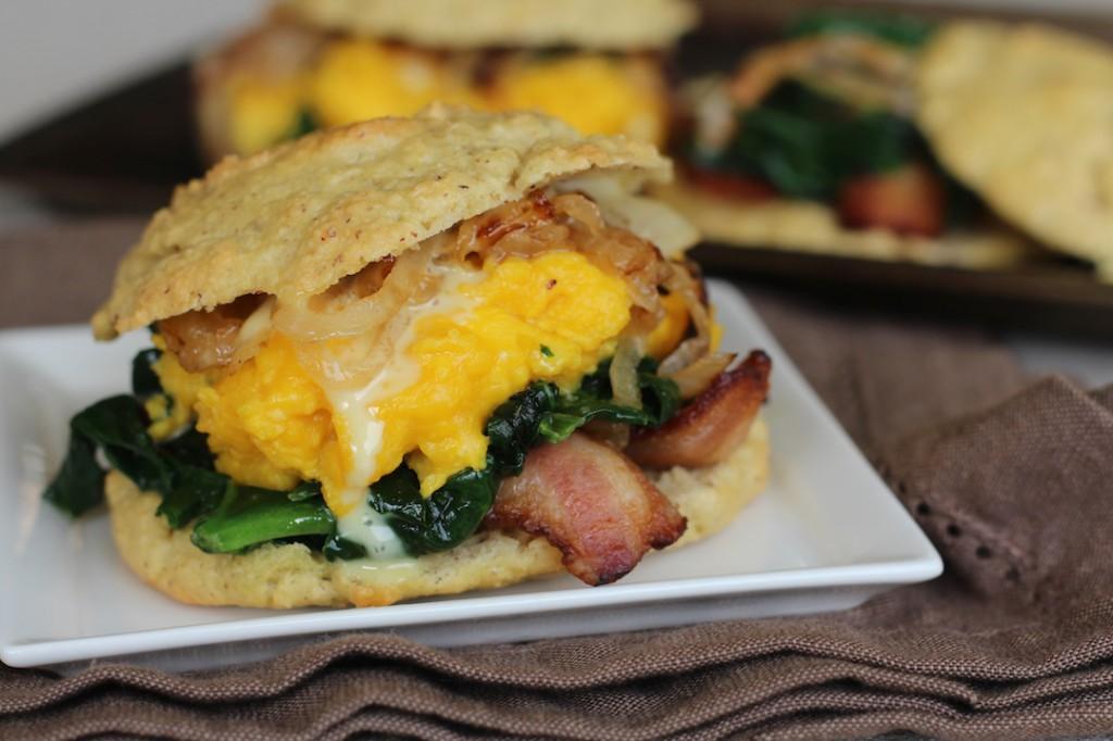 PaleOMG Breakfast Biscuit Sandwiches