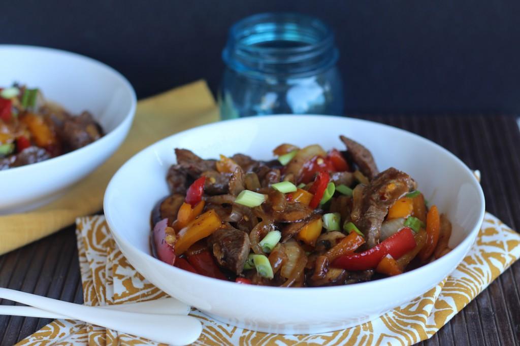 PaleOMG Teriyaki Beef Stir Fry