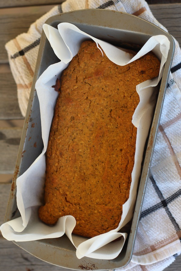 PaleOMG Chai Pumpkin Bread