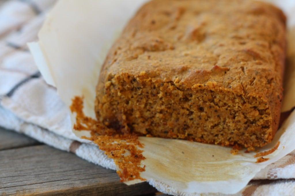 PaleOMG Pumpkin Chai Bread