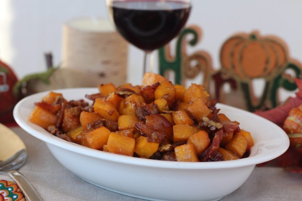 PaleOMG Maple Bacon Pecan Butternut Squash