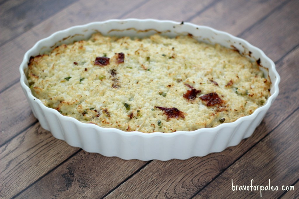Thanksgiving Guest Post: Primal Cauliflower Casserole (not strict paleo)
