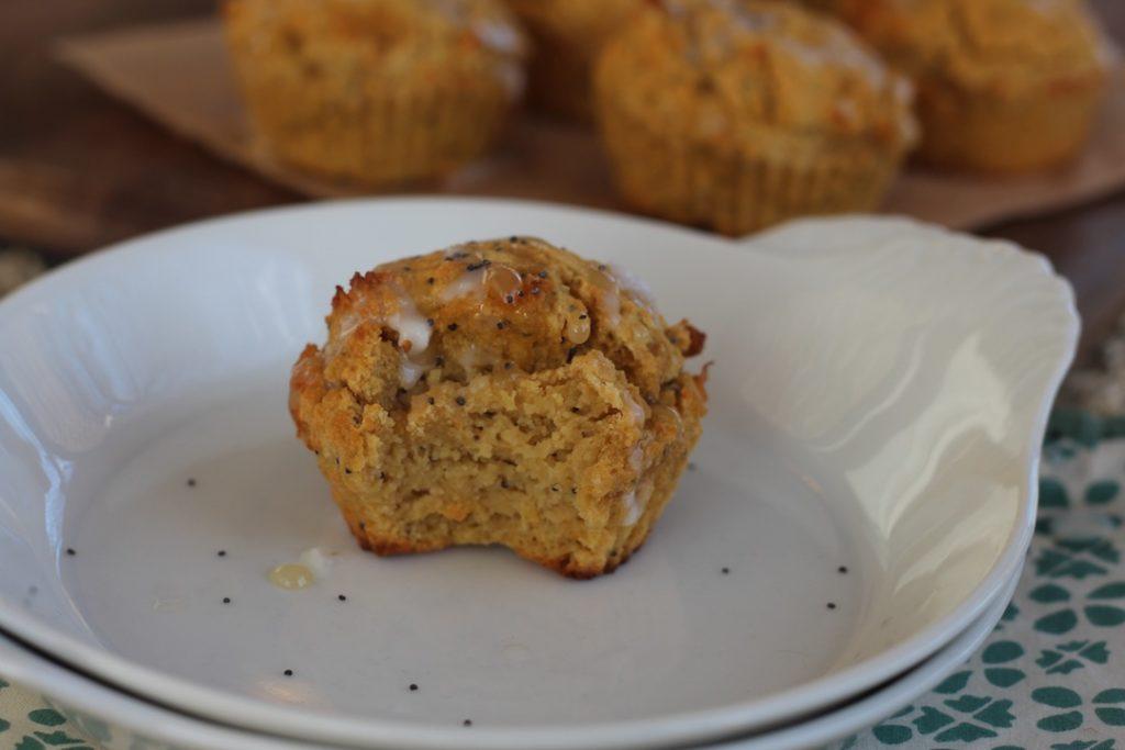 PaleOMG Lemon Poppyseed Acorn Squash Muffins