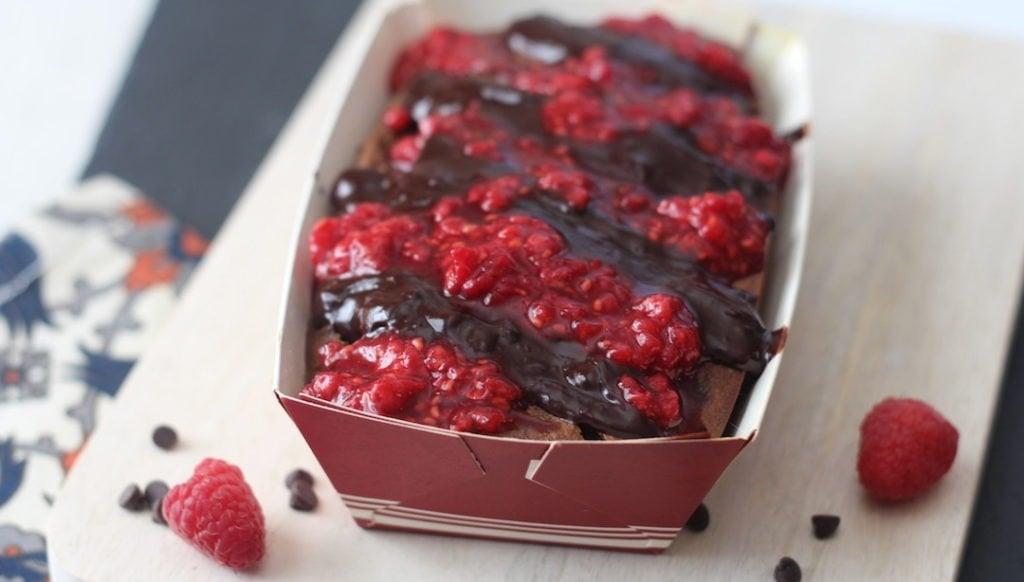 PaleOMG Dark Chocolate Raspberry Chia Banana Bread