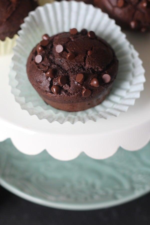 PaleOMG Double Chocolate Almond Espresso Muffins