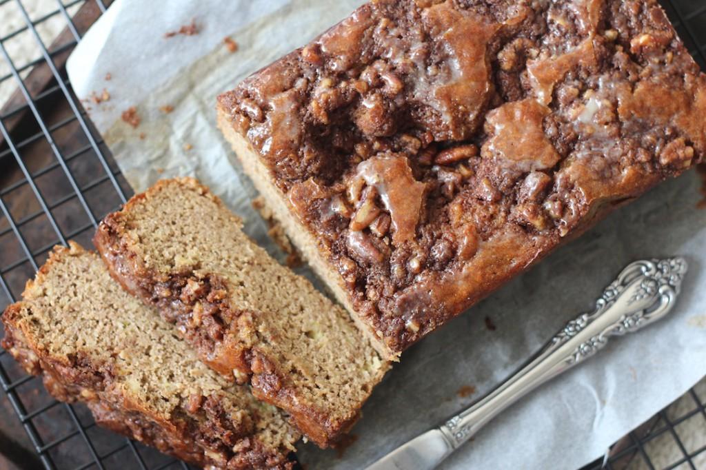 PaleOMG Coffee Cake Banana Bread