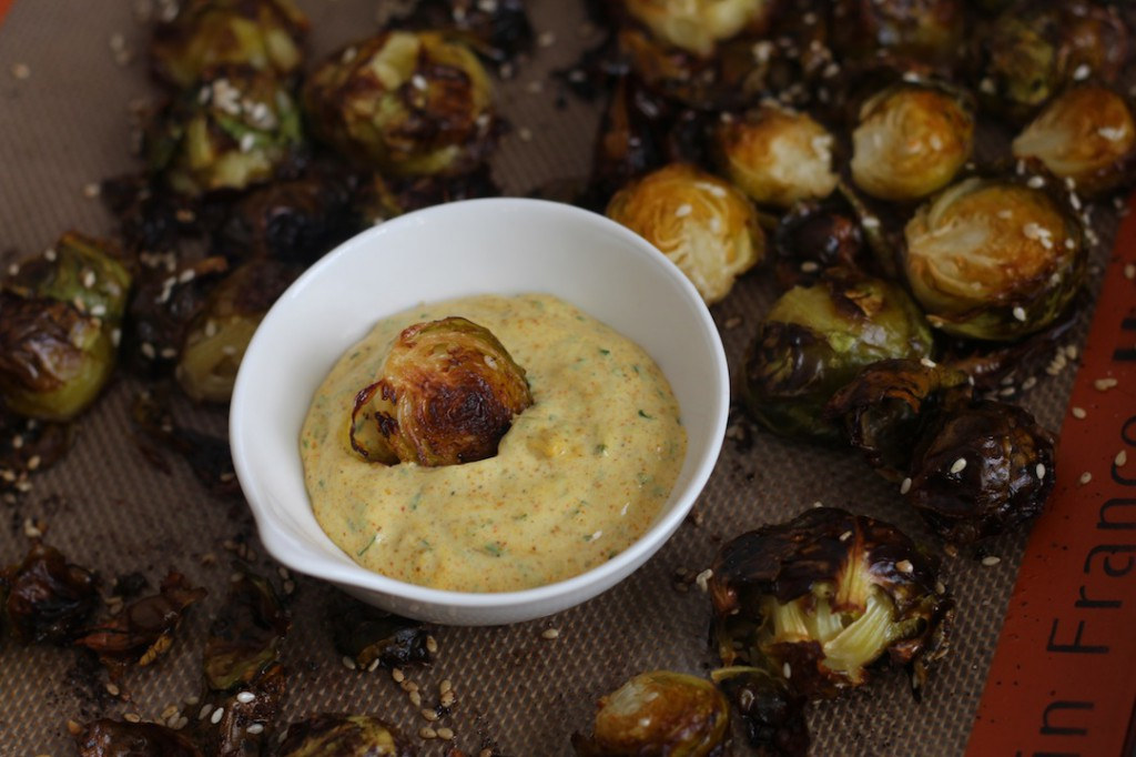 PaleOMG Crispy Sesame Brussels Sprouts