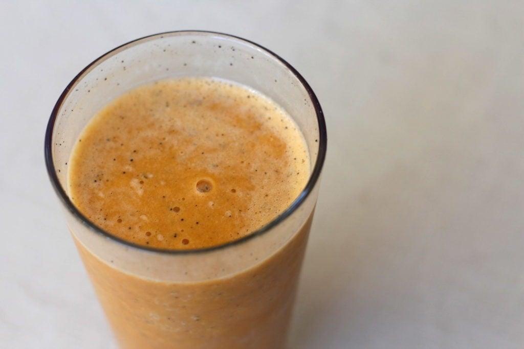 PaleOMG Post Workout Sweet Potato Coffee Protein Shake