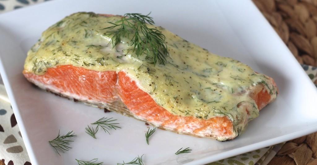 PaleOMG 5 Ingredient Creamy Dill Salmon