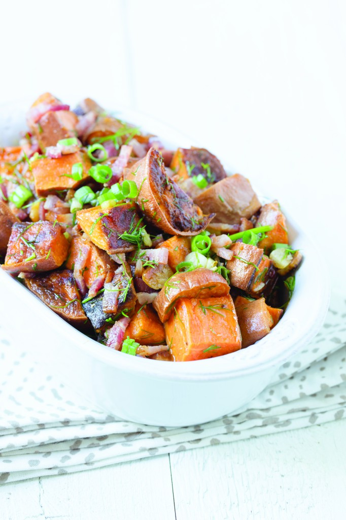 PaleOMG Bacon Lime Sweet Potato Salad