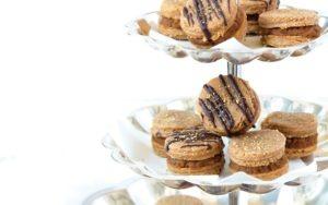 PaleOMG Gingerbread Snap Pumpkin Butter Cookie Sandwiches