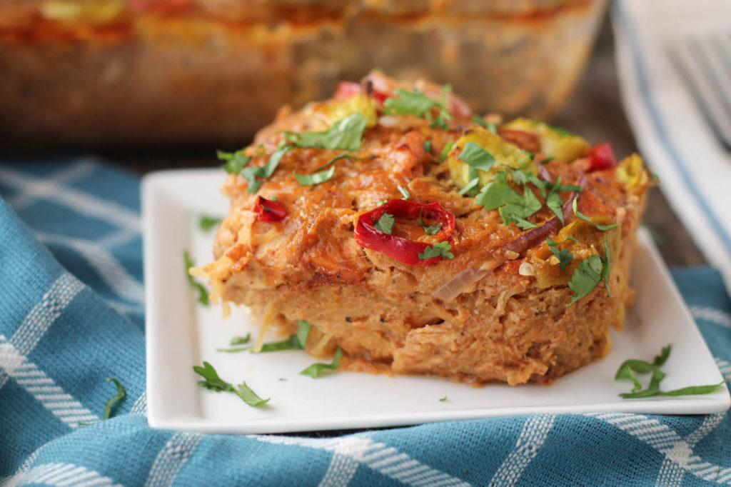 PaleOMG BBQ Chicken Casserole