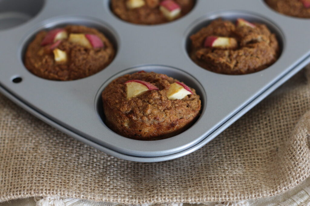 PaleOMG Apple Cinnamon Muffins Nut Free