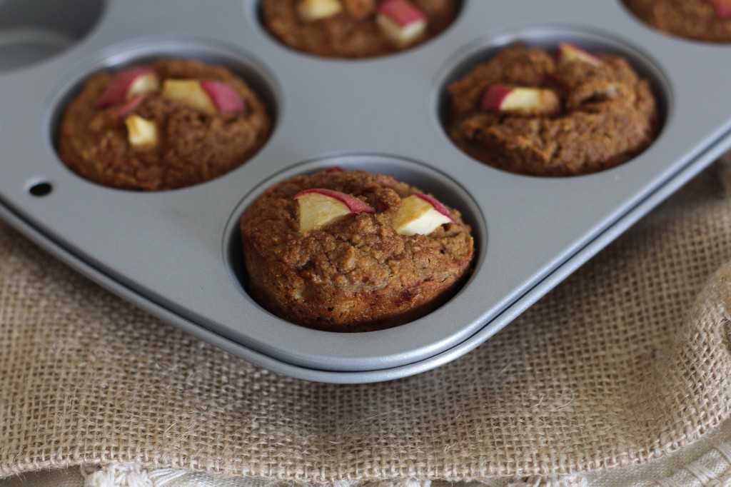 PaleOMG Apple Cinnamon Muffins Nut Free